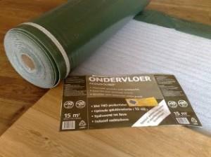 Isoheat ondervloer voor parket of laminaat vbn vloeren outlet