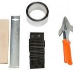 Er is gereedschap speciaal voor het leggen van laminaat